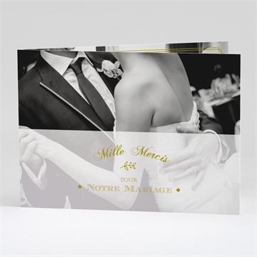 Remerciement mariage réf. N42134