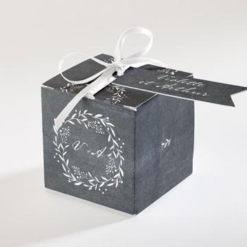 Boîte de dragées mariage réf.N34067