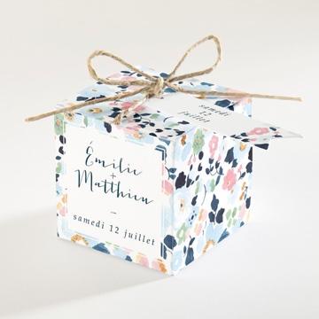 Boîte de dragées mariage réf.N34068