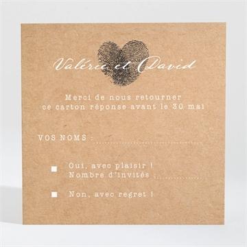 Carton réponse mariage réf. N3001310