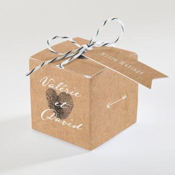 Boîte de dragées mariage réf.N34075