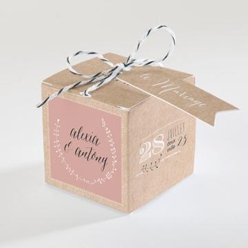 Boîte de dragées mariage réf.N34076