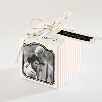 Boîte de dragées mariage réf.N34078