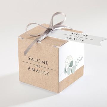 Boîte de dragées mariage réf.N34085