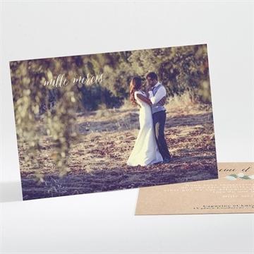Remerciement mariage réf.N111189