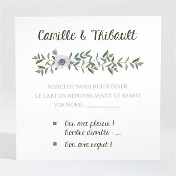Carton réponse mariage réf. N3001350