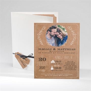 Faire-part mariage réf.N92037