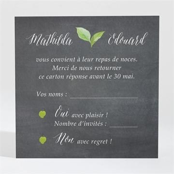 Carton réponse mariage réf. N3001387