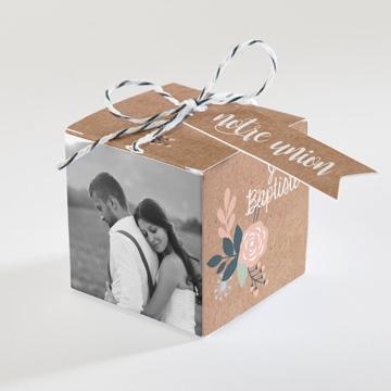 Boîte de dragées mariage réf.N340108