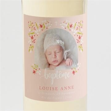 Etiquette de bouteille baptême réf.N3001410