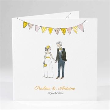 Faire-part mariage réf.N45185