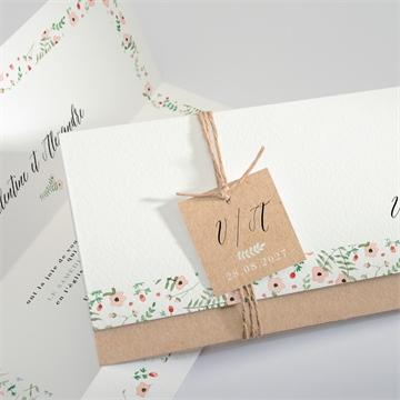 Créez Votre Faire Part De Mariage Floral Et élégant