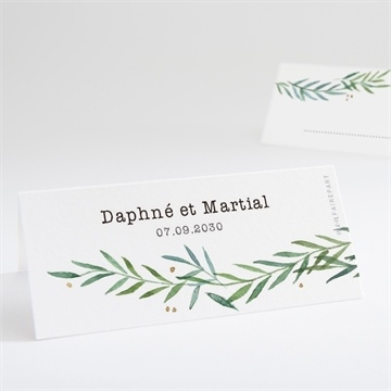 Marque-place mariage réf. N440693