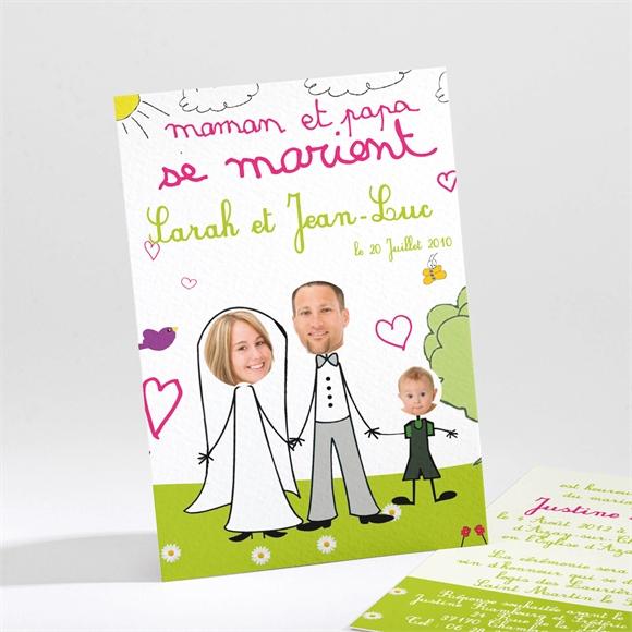 faire part mariage rfn21118 - Faire Part Mariage Papa Et Maman Se Marient