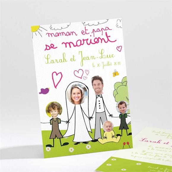 Faire Part Mariage Papa Et Maman Se Marient Monfairepartcom