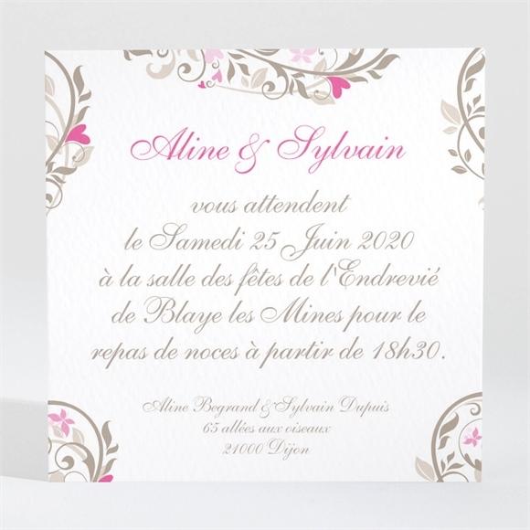 Invitation a la mariage