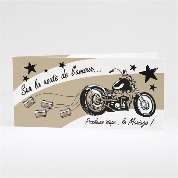 faire part mariage moto vintage