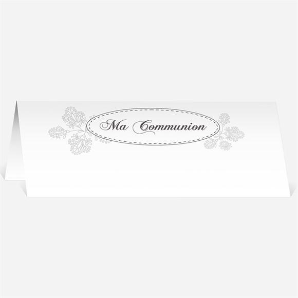 marque place communion r f n440257 du faire part communion r f n401710. Black Bedroom Furniture Sets. Home Design Ideas