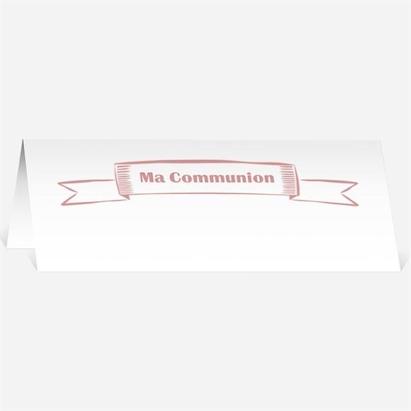 marque place communion r f n440294 du faire part communion r f n24152. Black Bedroom Furniture Sets. Home Design Ideas