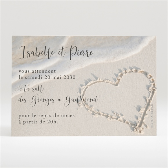 carton d 39 invitation mariage r f n120253 du faire part mariage r f n31181. Black Bedroom Furniture Sets. Home Design Ideas