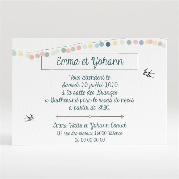 carton d 39 invitation mariage r f n120286 du faire part mariage r f n83002. Black Bedroom Furniture Sets. Home Design Ideas
