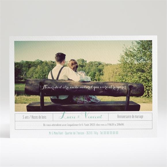 Invitation Anniversaire De Mariage Carte Anniversaire Photo Monfairepart Com