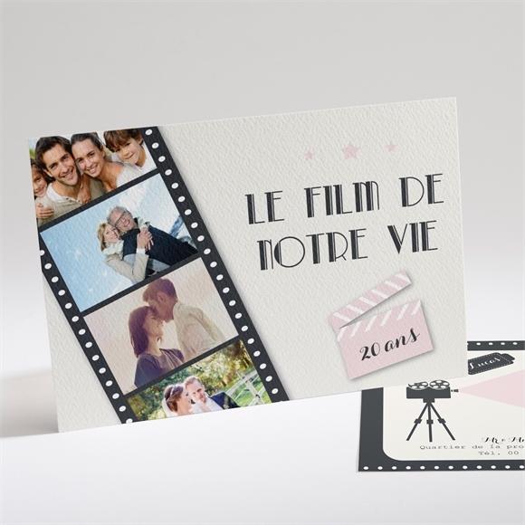 Invitation Anniversaire De Mariage Le Film De Notre Vie