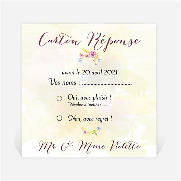 carton r ponse anniversaire de mariage r f n300477 du invitation anniversaire de mariage r f. Black Bedroom Furniture Sets. Home Design Ideas