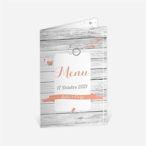 Menu Anniversaire De Mariage Elegante Carte Anniversaire Du