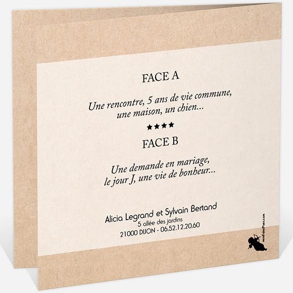 Faire Part 5 Ans De Mariage