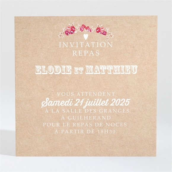 carton d 39 invitation mariage r f n300974 du faire part mariage r f n92019. Black Bedroom Furniture Sets. Home Design Ideas