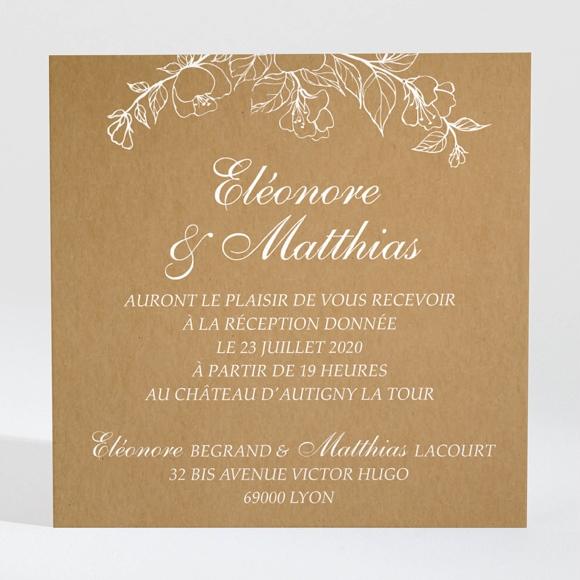 carton d 39 invitation mariage r f n3001393 du faire part mariage r f n70168. Black Bedroom Furniture Sets. Home Design Ideas