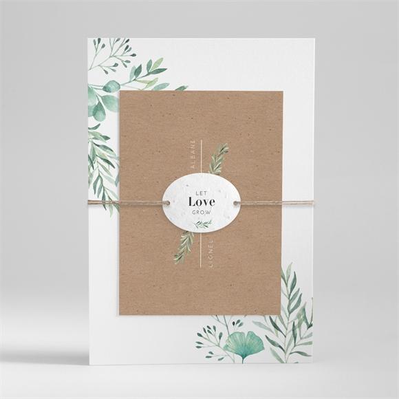 Faire-part mariage Let our Love grow ! réf.N99128