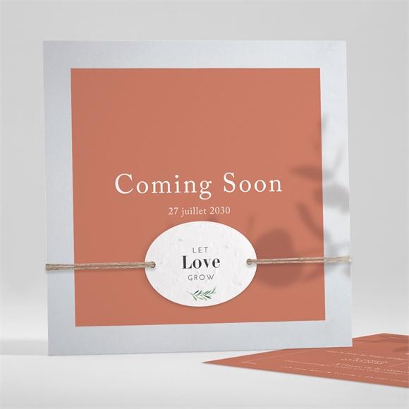 Faire-part mariage Coming Soon réf.N351177