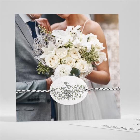 Remerciement mariage So Nature ! réf.N351173
