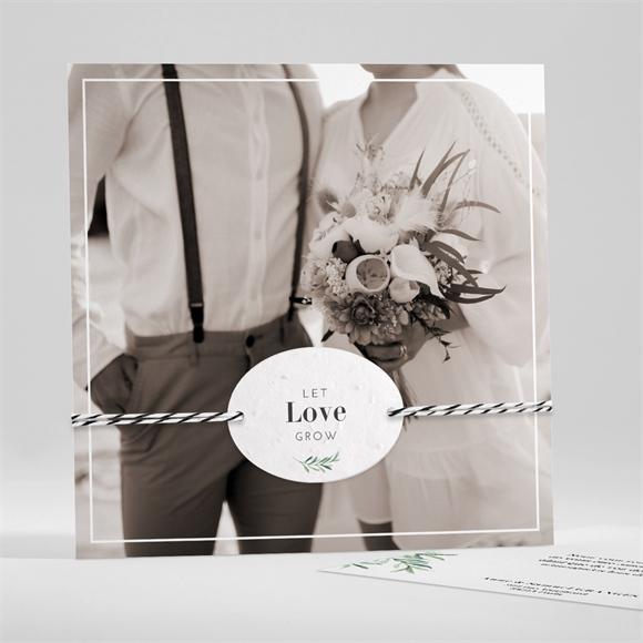 Remerciement mariage A la Folie ! réf.N351175